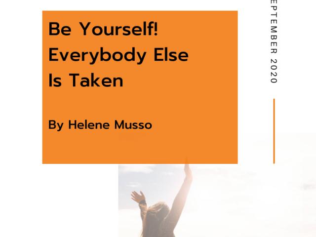 Everyone else is taken blog